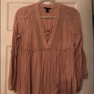 Casual 3/4 sleeve blouse